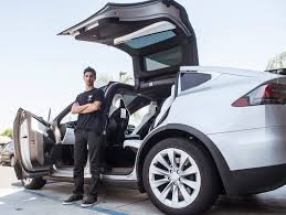 stubhub halloween horror nights rideshare in a tesla l a teen u0027s startup has you covered