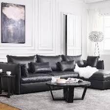 new bean bag chair beanbag modern leather sofa set living room