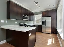 interior decoration contemporary small kitchen with l shaped