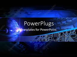 templates powerpoint crystalgraphics powerpoint template electronic communication technology banner with
