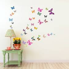 decowall dw 1201 38 colourful butterflies kids wall stickers wall decowall dw 1201 38 colourful butterflies kids wall stickers wall decals peel and stick removable wall stickers for kids nursery bedroom living room