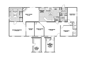 Mobile Home Floor Plans by Manufactured Home Floor Plan Clayton Cypress Point Classic Uber