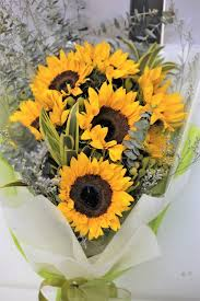 sunflower bouquet ahb 0028 sunflower bouquet altonflowers