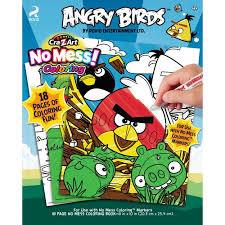 cra art angry birds mess coloring book walmart