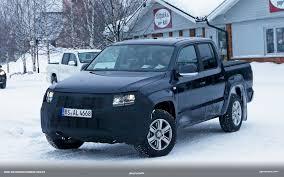 volkswagen amarok lifted volkswagen amarok facelift spied cold weather testing vwvortex