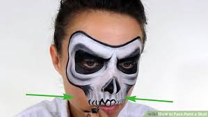 how to paint a skull 14 steps with pictures wikihow