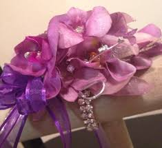 Prom Wristlets Prom Wristlet View Ombre Lavender And Purples Orchid Mix Brillant