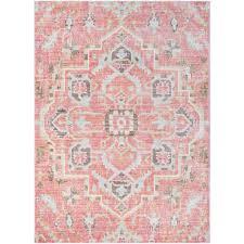 Home Depot Rugs Sale Surya Germili Pale Pink 2 Ft X 3 Ft Indoor Area Rug Ger2318 23