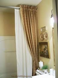Better Homes And Gardens Curtain Rods by Brilliant Permanent Shower Curtain Rod Better Homes And Gardens