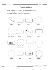 time zones by rafiab teaching resources tes