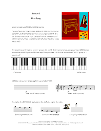 printables u0026 audio for piano units 1 6 lessons 1 120 hoffman