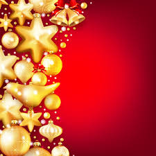 gold baubles with background vector 03 epin free
