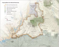 Standing Rock Reservation Map The Bid For Bears Ears Whose Homeland U2014 High Country News
