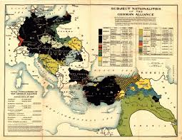 Forum Map An Ethnic Map Of The Various Central Powers Countries Axis