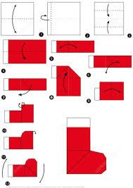 How To Make A Origami Santa - how to make an origami santa boots free printable