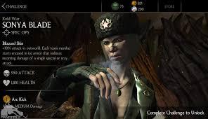 Challenge Fatality Mortal Kombat X Mobile Kold War Sonya Challenge Available Mortal