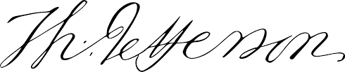 file thomas jefferson u0027s signature2 svg wikimedia commons