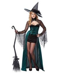 Wicked Witch Halloween Costume Enchantress Witch Womens Costume U2013 Spirit Halloween Pinup