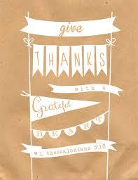 Thanksgiving Printable Free Free Give Thanks Print Grateful Grateful And Thanksgiving