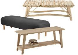 banc de chambre un banc en bout de lit pratique et déco joli place