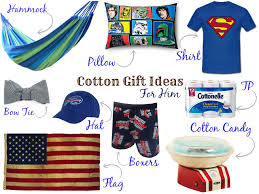 cotton anniversary gifts for him second anniversary cotton gifts for him at logan at