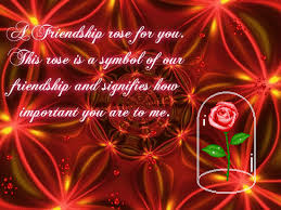 a friendship rose for you free special friends ecards greeting
