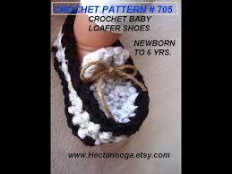 newborn pattern video baby loafers booties age 1 year crochet pattern video tutorial