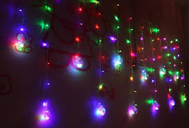 New Year Garden Decoration by Christmas 3m Droop 0 8m Curtain Led Fairy Tale String Lights 220v