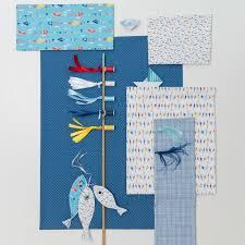 tissu bord de mer tissu coton mer mondial tissus