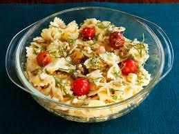 simple pasta salad olive oil recipe food next recipes