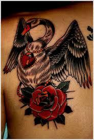 30 dazzling and flashy swan tattoo designs tattoo ideas