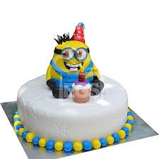 send 3lbs despicable cake redolence bake studio