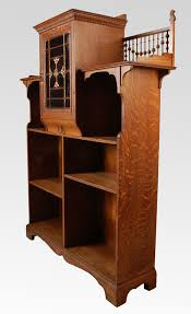 Arts And Craft Bookcase Arts And Crafts Oak Open Bookcase For Sale Antiques Com
