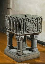 baptismal fonts 317 best baptismal fonts images on romanesque