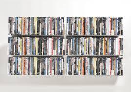 Wall Dvd Shelf Wall Mounted Shelf Contemporary Steel For Cds Ucd Teebooks