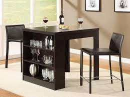 small table with shelves dining table for small spaces decoration channel