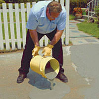 Concrete Patio Resurfacing Products Quikrete Concrete Resurfacer