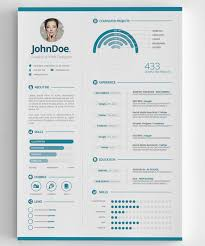 Resume Infographic Template 3 Clean Infographic Resume Misc Infographic