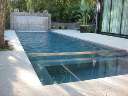 modern water feature ultra modern pool water feature in hollywood hills california