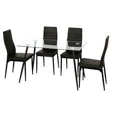 table a manger pas cher avec chaise tables à manger achat tables salle à manger pas cher rueducommerce