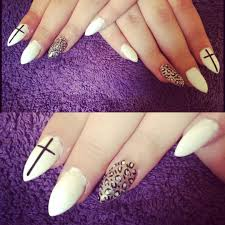 white tip nails with purple design summer nail designs robin