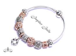rose gold color bracelet images Genuine rose gold pandora bracelet jpg