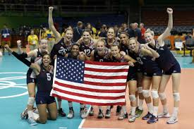 olympic roundup top ranked u s women take volleyball bronze