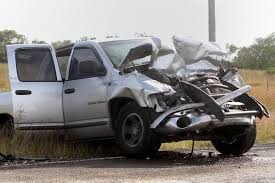 wrecked dodge trucks edna injured in two truck wreck advocate