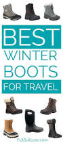 best winter boots for travel women men and children