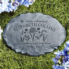personalized garden stones personalized garden stones at personal creations