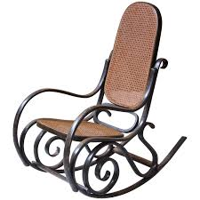Rocking Chair Antique Thonet Model 10 Bentwood Rocking Chair Salvatore Leone