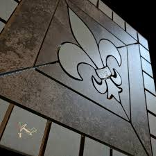 made to order allow 2 to 3 weeks 18 fleur de lis ceramic