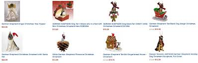 german shepherd dog christmas cards u0026 ornaments