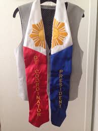 custom stoles my graduation stole embroidered with dt coordinator and